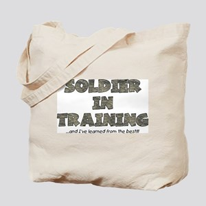 Soldier In Training Tote Bag