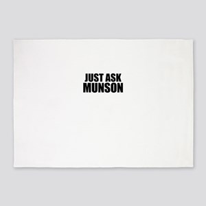 Just ask MUNSON 5'x7'Area Rug