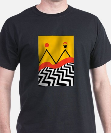 Twin Peaks Jack Rabbits Palace T-Shirt