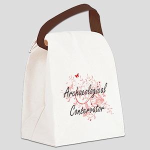 Archaeological Conservator Artist Canvas Lunch Bag