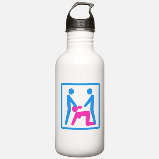 Kamasutra - Menage a T Water Bottle
