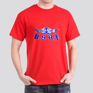 USAF Scroll Dark T-Shirt