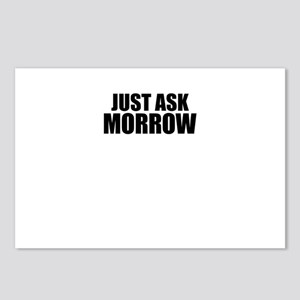 Just ask MORROW Postcards (Package of 8)