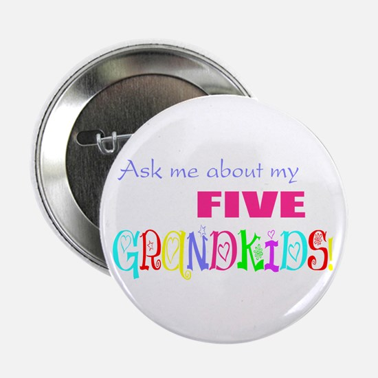 Five Grandkids Button