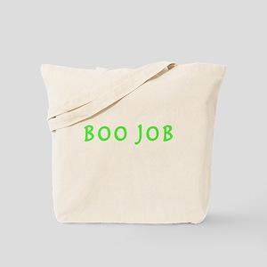 BOO JOB GREEN Tote Bag