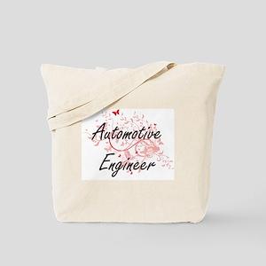 Automotive Engineer Artistic Job Design w Tote Bag