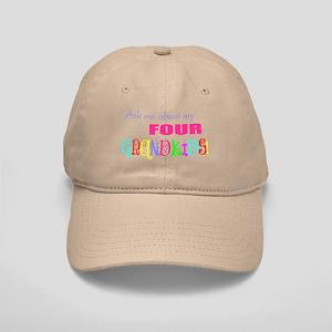 Four Grandkids Cap