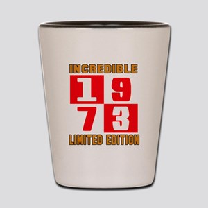 Incredible 1973 Limited Edition Shot Glass