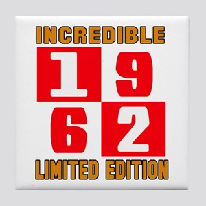 Incredible 1962 Limited Edition Tile Coaster