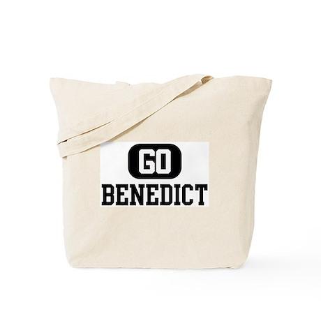 Go BENEDICT Tote Bag