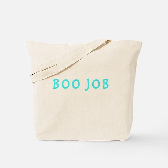 BOO JOB BLUE Tote Bag