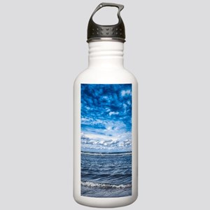 Cloudy day on the beac Stainless Water Bottle 1.0L