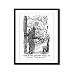 Christmas Present Framed Panel Print