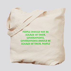 governments green Tote Bag
