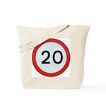 20 Tote Bag