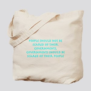 governments blue Tote Bag