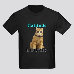 Catitude Kids Dark T-Shirt