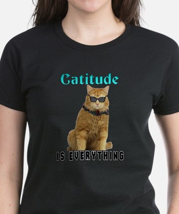Catitude Women's Dark T-Shirt