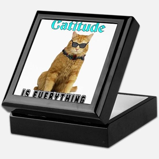 Catitude Keepsake Box