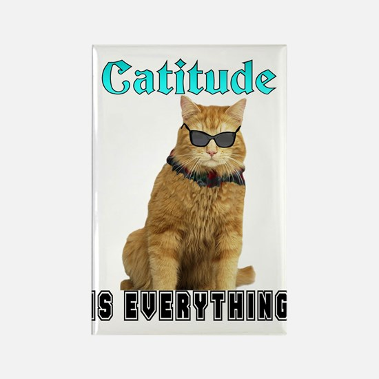 Catitude Rectangle Magnet