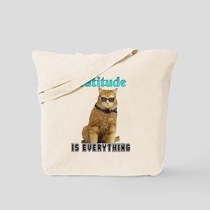 Catitude Tote Bag