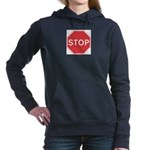 Stop Women's Hooded Sweatshirt