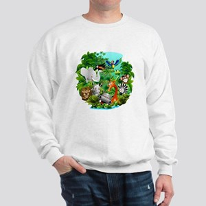 Wild Animals Cartoon on Jungle Jumper