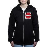 No entry Women's Zip Hoodie