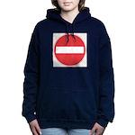 No entry Women's Hooded Sweatshirt