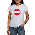 No entry T-Shirt