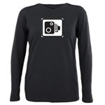Camera Plus Size Long Sleeve Tee