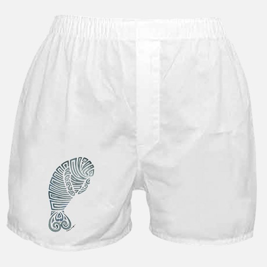 Tribal Manatee Boxer Shorts