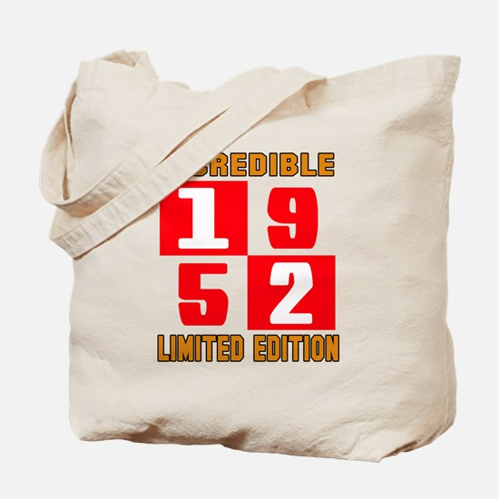Incredible 1952 Limited Edition Tote Bag