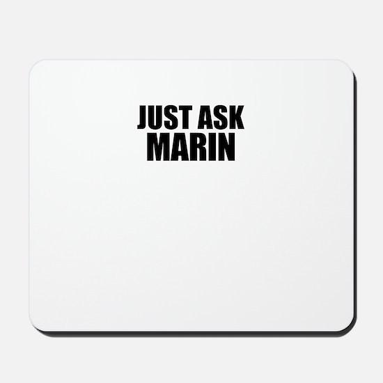Just ask MARIN Mousepad