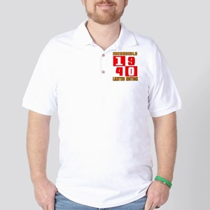 Incredible 1940 Limited Edition Golf Shirt