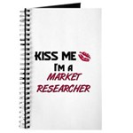 Kiss Me I'm a MARKET RESEARCHER Journal