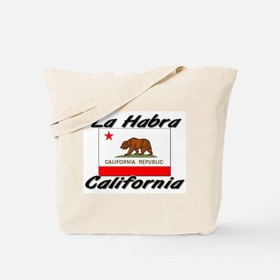 La Habra California Tote Bag