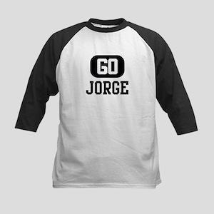 Go JORGE Kids Baseball Jersey