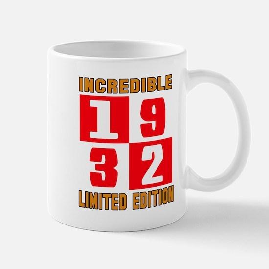 Incredible 1932 Limited Edition Mug