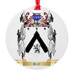 Salt Round Ornament