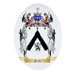 Salt Oval Ornament
