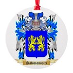 Salomonovitz Round Ornament