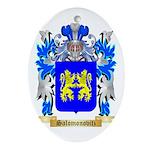 Salomonovitz Oval Ornament