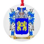 Salomonczyk Round Ornament