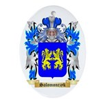 Salomonczyk Oval Ornament