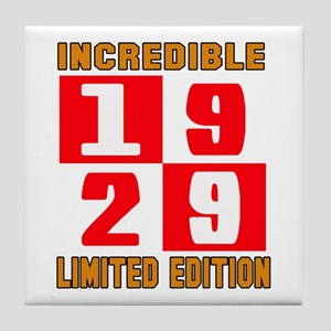 Incredible 1929 Limited Edition Tile Coaster
