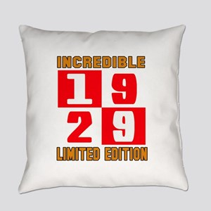 Incredible 1929 Limited Edition Everyday Pillow