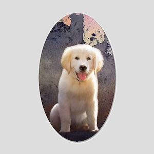 Golden Retriever Puppy Wall Decal