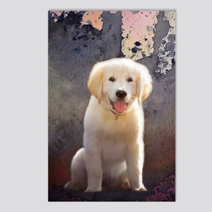 Golden Retriever Puppy Postcards (Package of 8)