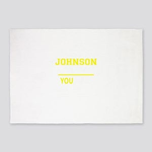 JOHNSON thing, you wouldn't underst 5'x7'Area Rug